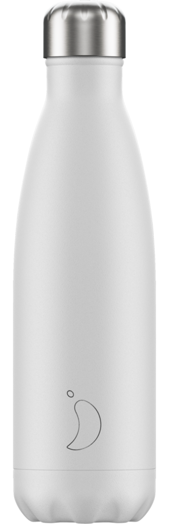 Chilly Bottle - Monochrome White 500ml