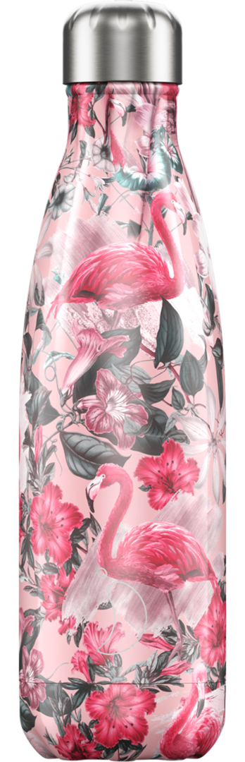 Chilly Bottle - Tropical Flamingo 500ml