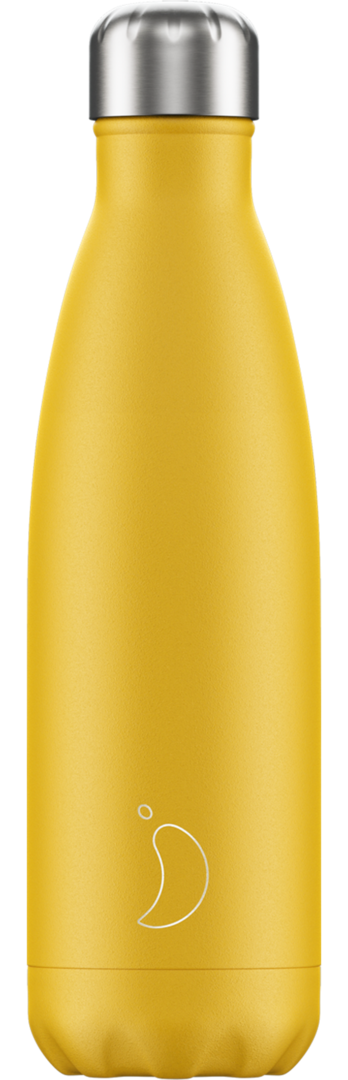 Chilly Bottle - Matte Burnt Yellow 500ml