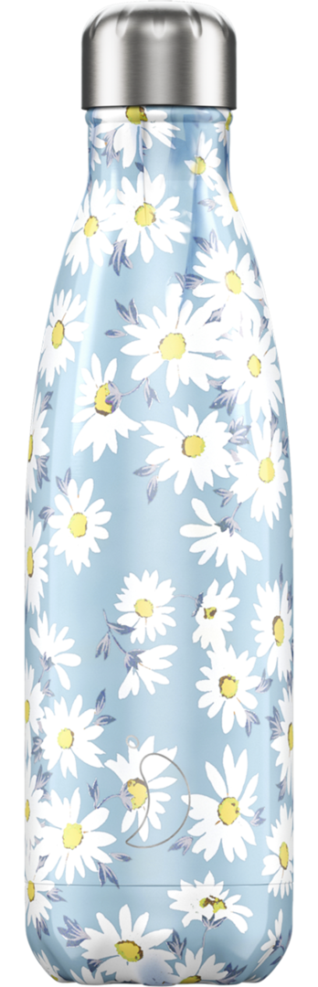 Chilly Bottle - Floral Daisy/ Gänseblümchen 500ml