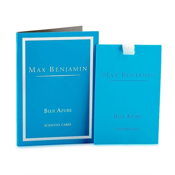 Blue Azure Luxury Scented Card