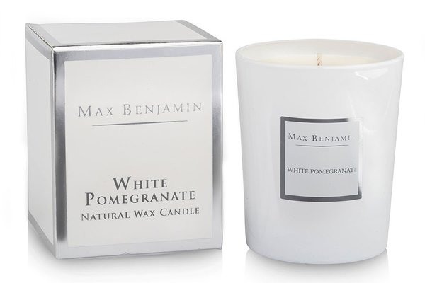 MAX BENJAMIN - White Pomegranate  Luxury Natural Candle 190g