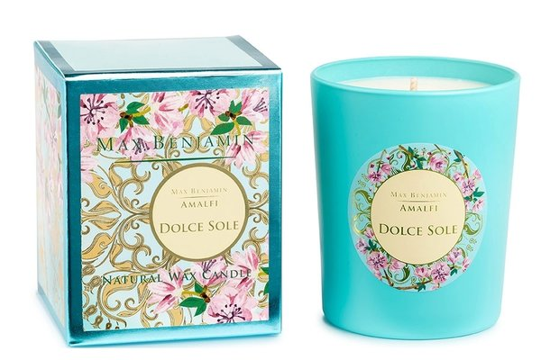 Max Benjamin - Dolce Sole  Luxury Natural Candle 190g
