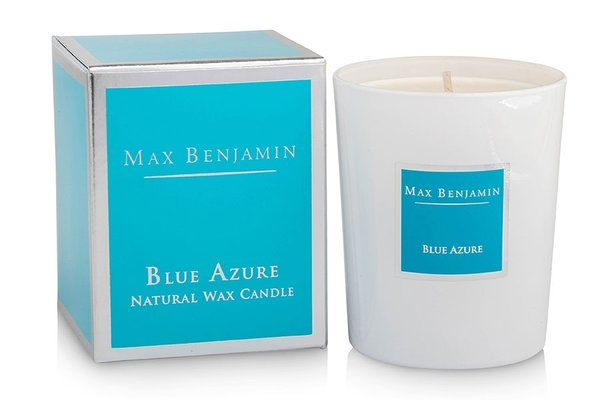 Blue Azure  Luxury Natural Candle 190g