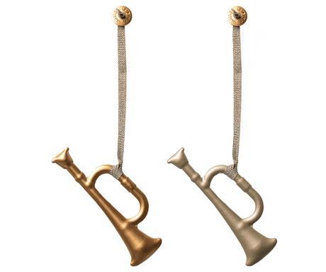 Ornament Trumpet, Metal 2 ass.