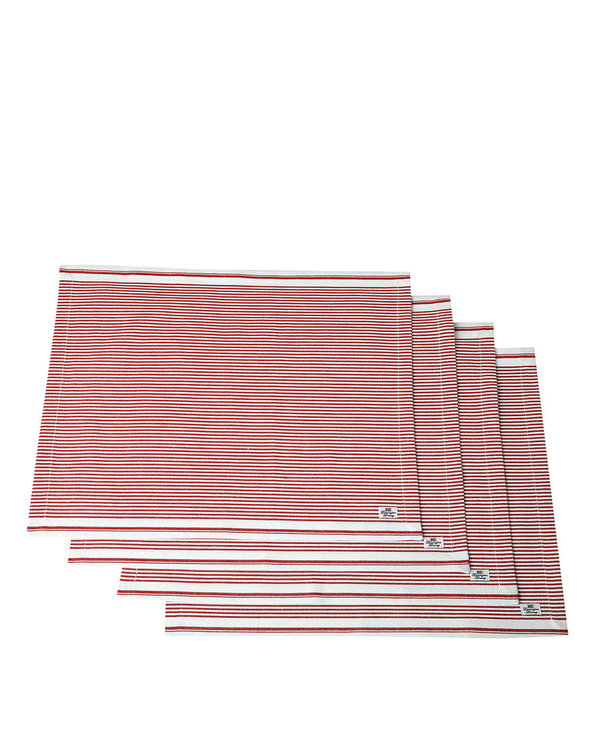 LEXINGTON Icons Oxford Red/White Striped Placemat