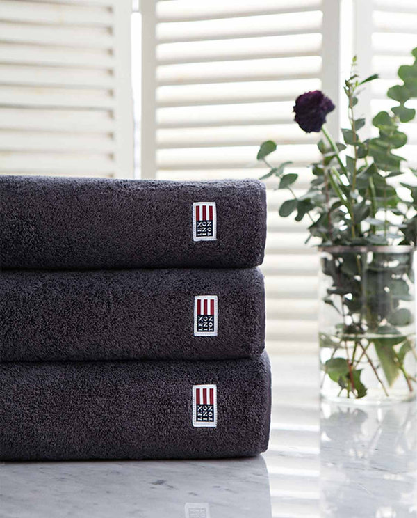 LEXINGTON Icons Original Bath Towel Charcoal