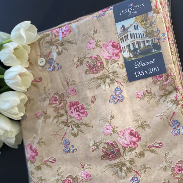 Lexington - City Floral Sateen Bedding 135 x 200