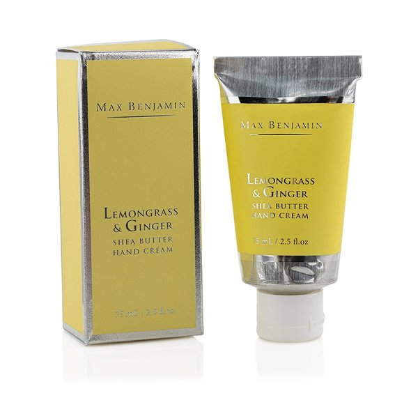 Max Benjamin - Lemongrass & Ginger  Luxury Hand Cream