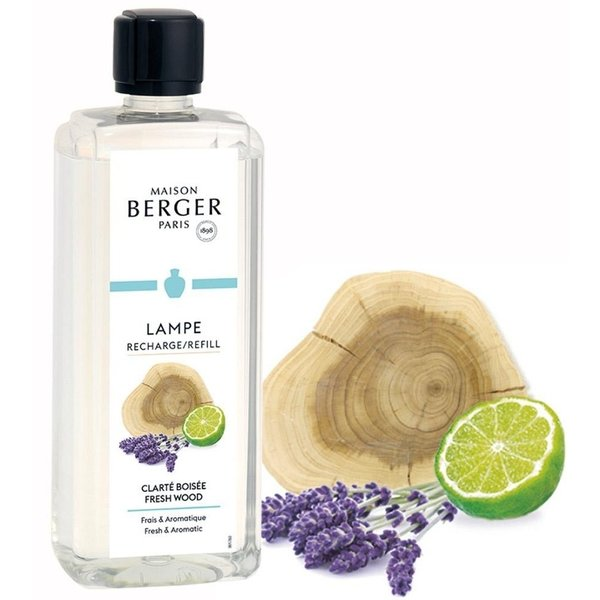Lampe Berger - Belebende Holznuancen - Fresh Wood  500 ml
