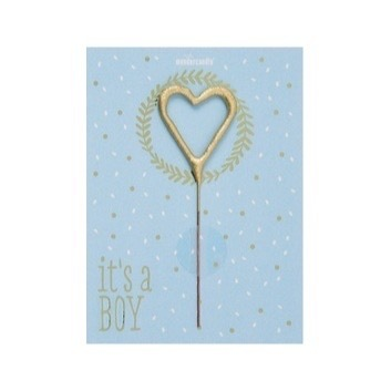 Wondercandle - It's a Boy Mini Wondercard